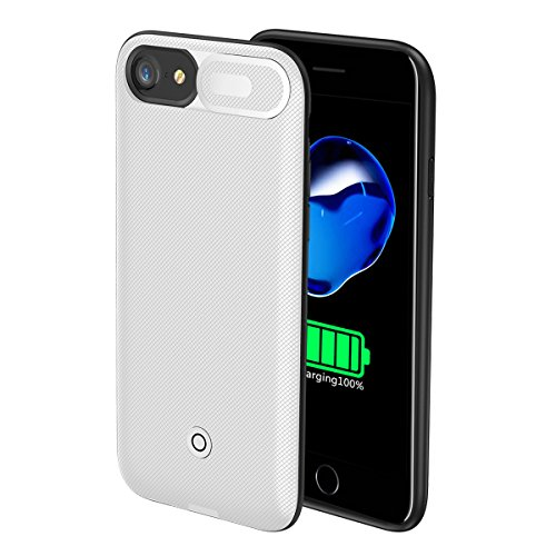 4891ead2f4c FugouSell iPhone 6 6s 7 8 Battery Case, 5500mAh Extended Battery  Rechargeable Backup Fast Charging