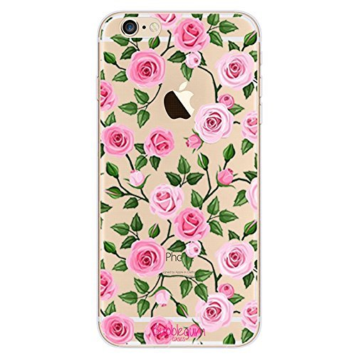 Bubblegum Fällen Flower Designs Cute Artistic Schutzhülle für alle iPhone Modelle, 1: Rose Forest, iPhone 7 Plus/iPhone 8 Plus (215 Batman)