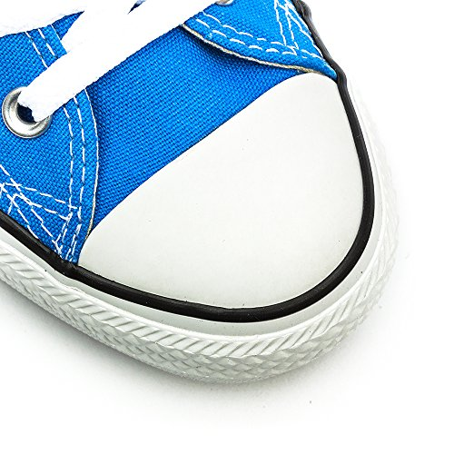 Converse, All Star Ox Canvas Seasonal, Sneaker, Unisex - adulto (Blau - blau)