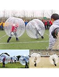 Voberry® 1,2m Zorb balón de fútbol hinchable de parachoques cuerpo humano burbuja fútbol 4ft