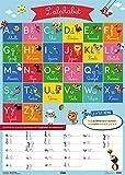 Mes posters d'école: Les lettres de l'alphabet - Dès 4 ans
