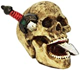 Best Custom Accessories Shift Knobs - Vintage Parts 62425 Skull with Dagger Custom Shift Review