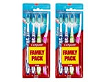 Colgate - Brosse à Dents Extra Clean - Souple - Lot de 2