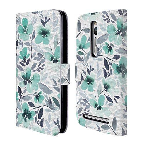 official-jacqueline-maldonado-espirit-mint-patterns-leather-book-wallet-case-cover-for-zenfone-2-del