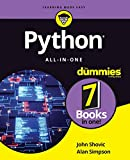 Python All-in-One For Dummies (For Dummies (Computer/Tech)) - John Shovic, Alan Simpson