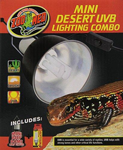 Zoo Med Combo Desert UVB Lighting, Mini by Zoo Med -