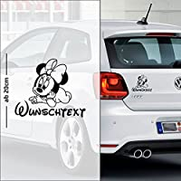 Micky Maus #10 | Baby - Name On Board | Wunschtext | Auto Aufkleber | Minnie Maus | Baby On Board