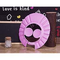 doutree protección segura Champú Ducha Baño Baño Cap suave ajustable visera gorro para Niños Bebé, rosa