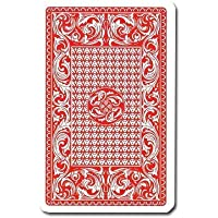 100% Plastic Red Skat Playing Card Deck by Brybelly Holdings