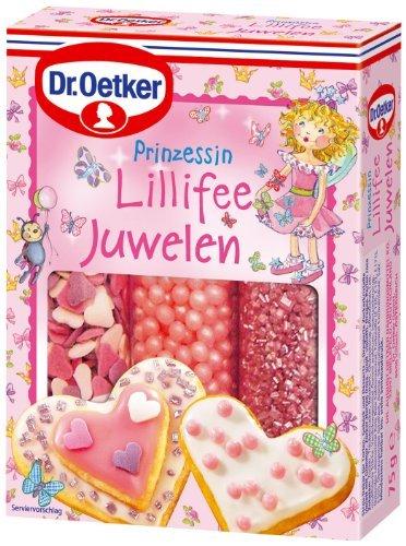 Dr.Oetker Prinzessin Lillifee Juwelen 75g Streu-Dekor