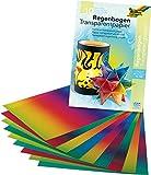 Regenbogenpapier -  22,5 x 32 cm, 10 Blatt
