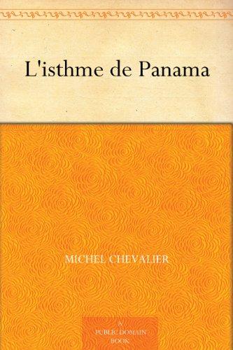 Couverture du livre L'isthme de Panama