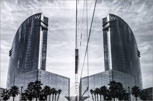 impresion-en-madera-60-x-40-cm-five-star-w-hotel-barcelona-spain-de-juergen-held
