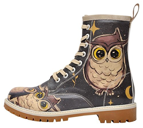 Dogo Boots Owls Family – Damen-Stiefel - 2
