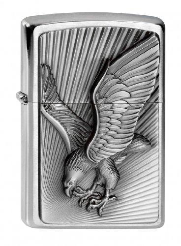 Zippo 200 Eagle 2013 Emblem Feuerzeug, Messing