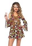 LEG AVENUE 85610 - Starflower Hippie, S, Mehrfarbig