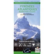 Carte routière : Pyrénées-Atlantiques