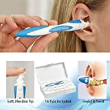#5: TUZECH Easy Ear Wax Spiral Cleaner - Free 16 TIPS - Reusable