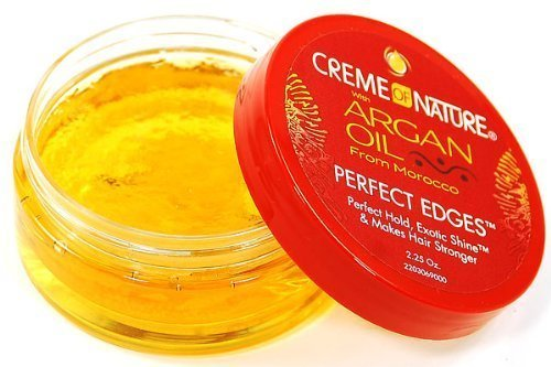 Cream of Nature Argan Oil Perfect Edges 75 ml by Creme of Nature (English Manual)
