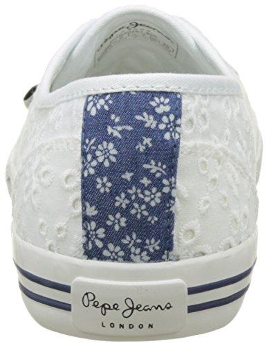 Pepe Jeans Mädchen Baker Tie Dye Low-Top Weiß (White)