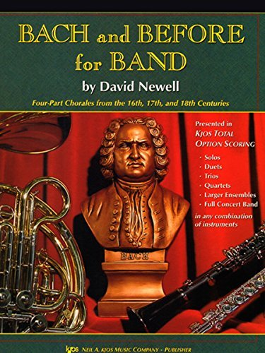 W34BC - Bach and Before for Band - Trombone/Baritone B.C./Bassoon by David Newell (2002-01-01)
