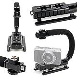 DURAGADGET Stabilizzatore Per Fotocamera Digitale Fujifilm GFX 50S , Instax Mini 26 , Instax Mini 50S , Instax Mini 70 , Instax Square SQ10 , instax WIDE 300 , S8650 , X100F , X100T , X30 – Vite Universale – Base Antiscivolo