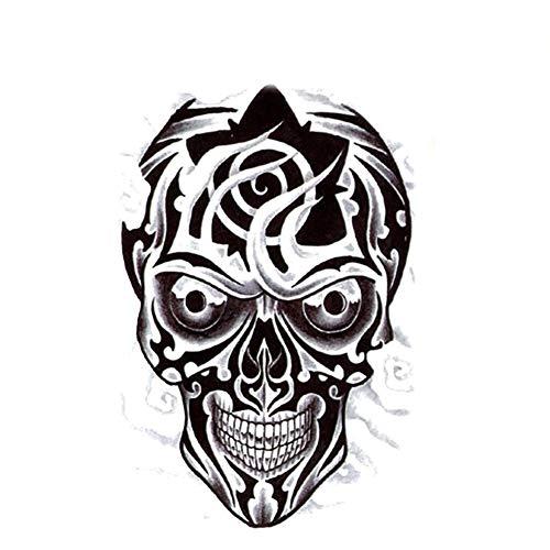n / Sticker temporär - Mexican Skull / Totenkopf / Schädel ()
