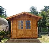 Casita de madera de jardín dekalux 2,5 ...