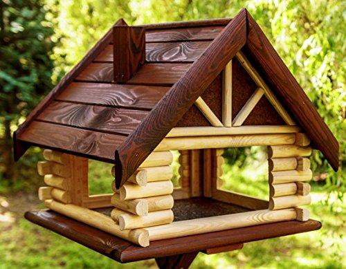 vogelhaus vogelhaeuschen futterhaus holz vogelfutterhaus