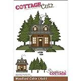 CottageCutz 6 pollici Forestale Cabin Die Cuts