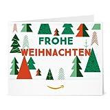 Amazon.de Gutschein zum Drucken (Weihnachtsbäume)