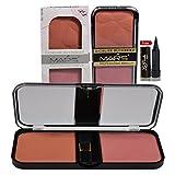 #7: MARS Professional Makeup 2 Color Blushers with Laperla kajal