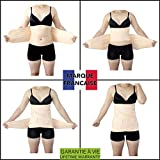 TAKIT 3 In 1 Rückbildungsunterstützende Bauchbinde - Neue Größe 2018 - Figurformendes Bauchband Nach Der Geburt Für Bauch, Taille Und Becken - Formender Bauchweggürtel - M