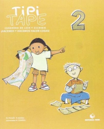 Tipi-Tape. Cuaderno de leer y escribir 02 - 9788430700820