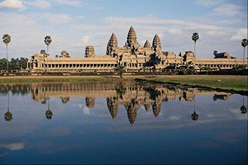 705004 Angkor Wat Cambodia A4 Photo Poster Print 10x8