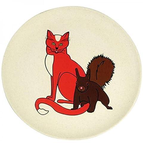Hungry cat zuperzozial assiette