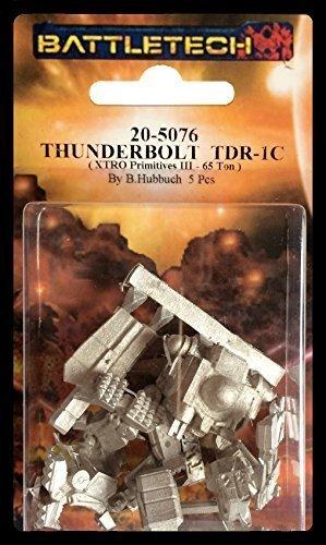 BATTLETECH 20-5076 Thunderbolt TDR-1C