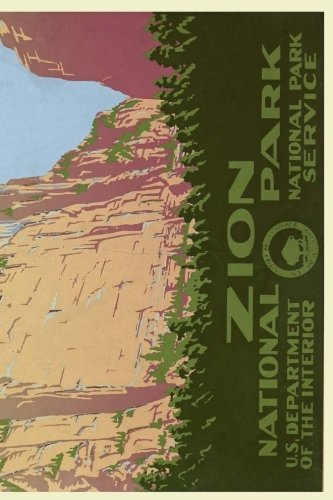 Virgin River Zion National Park (Zion National Park: 150 page lined notebook)