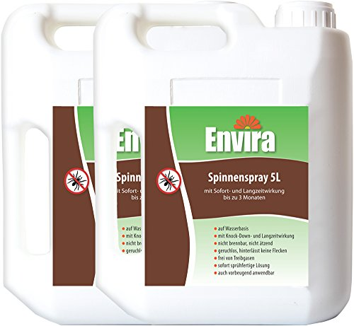 ENVIRA Spinnen Stopp Spray 2x5Ltr