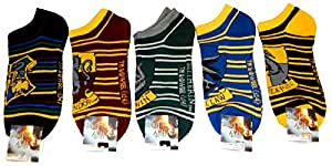 Harry Potter écussons 5 Paires de socquettes