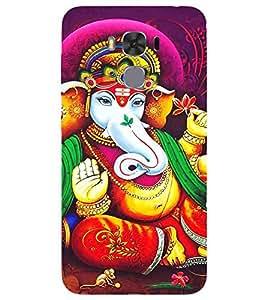 Ganpati Ji, Multicolor, Ganesh Ji, Mangal Moorti, Printed Designer Back Case Cover for Asus ZenFone 3S Max :: Asus Zenfone 3s Max ZC521TL :: ZenFone 3s Max (ZC521TL) :: Asus Zenfone Max 3S