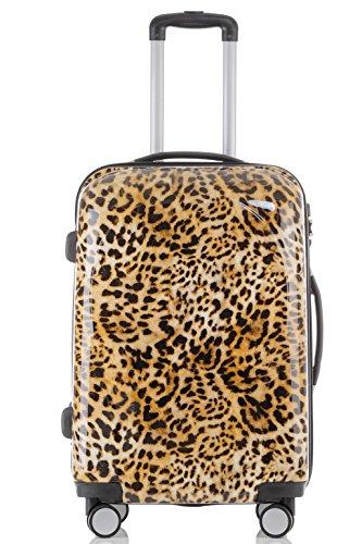 Maleta de viaje 2060,rígida, en 12 motivos, XL, L, M leopardo XL+L