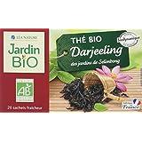 Jardin Bio Thé Noir Darjeeling 20 Sachets 30 g -