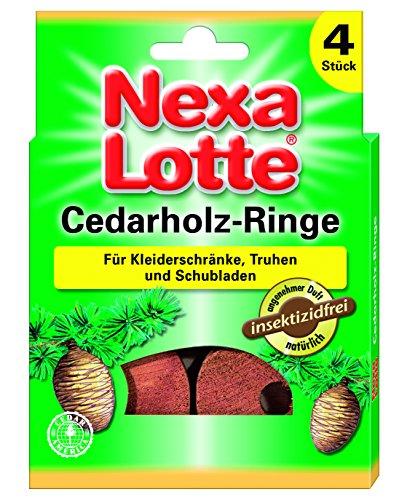 Nexa Lotte Cedarholzringe - 4 St.