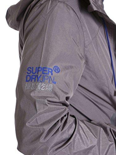 Superdry Herren Sportjacke New Dual Zip Grau