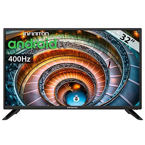 TV LED INFINITON 32' TV INTV-32LA Full HD - Android TV- Smart TV - TDT2 - WiFi - USB Grabador