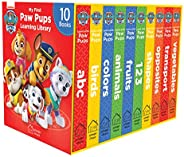 My First Paw Pups Learning Library: Boxset of 10 Board Books For Children