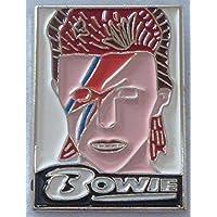 Metallo smaltato Spilla di Superstar Rock, musica, motivo: David Bowie