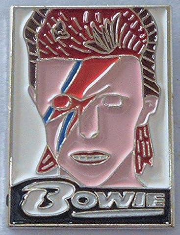 Métal Émail Badge à épingle broche Musique Rock Superstar–David Bowie