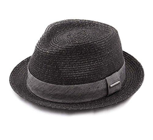 Stetson - Chapeau Trilby Pliable - 2 Coloris - Homme ou Femme Trilby Toyo